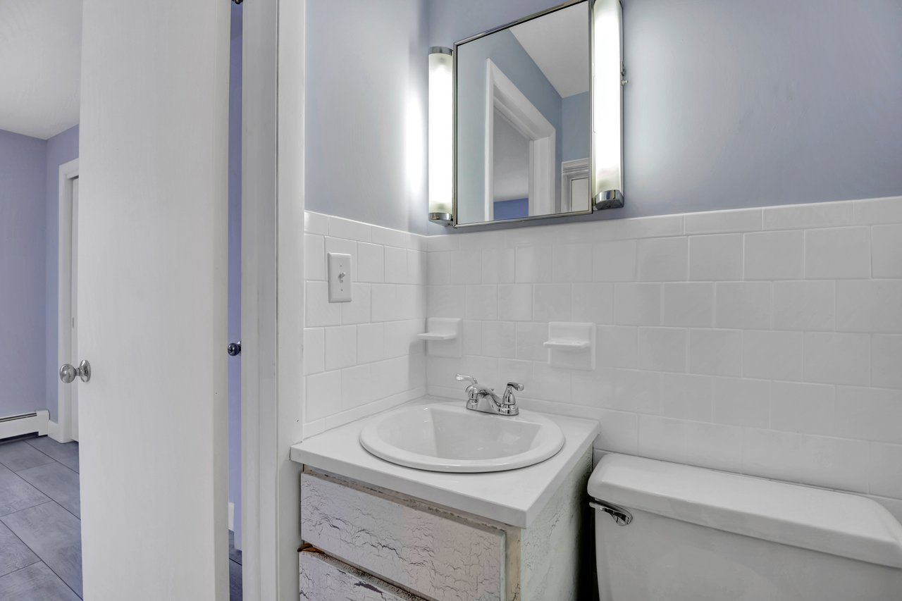 First Bedroom's full private bathroom.