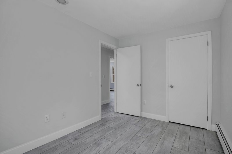 The 3rd bedroom features a single closet.