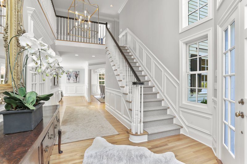 Enter a  gracious two floor open foyer that invites you into the heart of this spacious, open and well-designed floor plan.