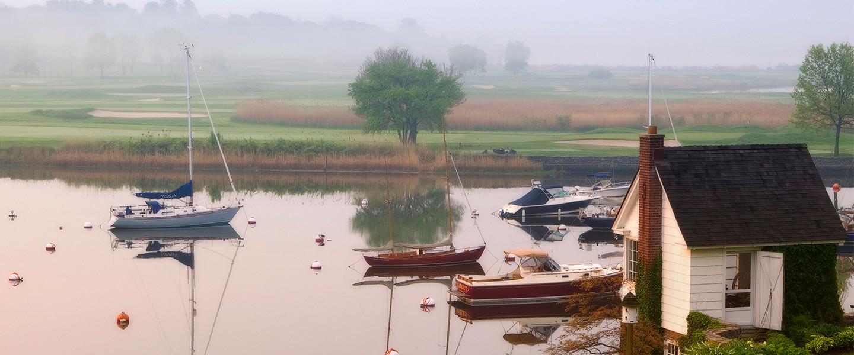Southport-Harbor-Fog