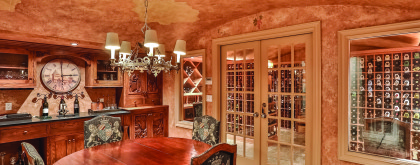 77 Bayberry - wine cellar 2