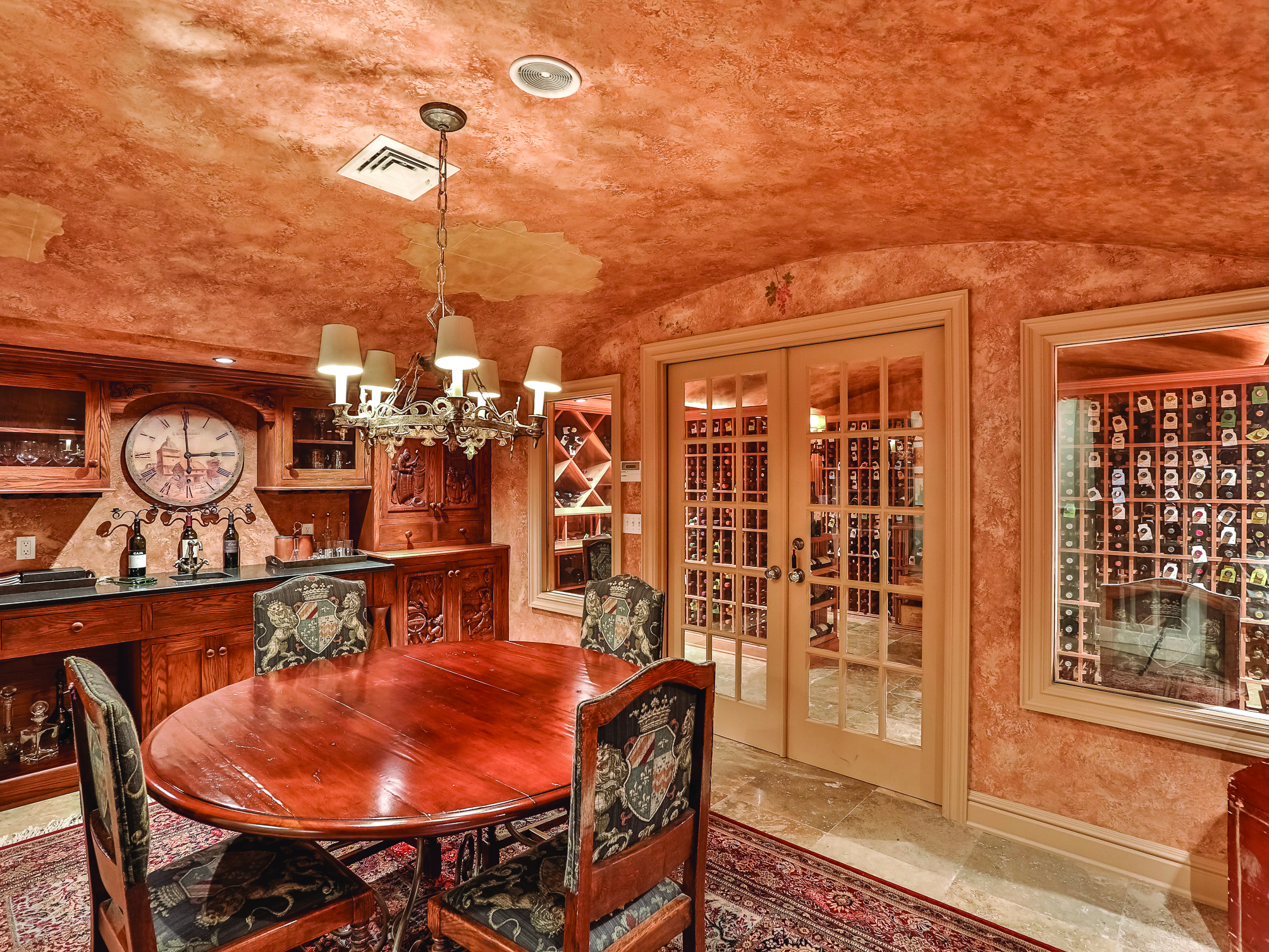 u201cToday wine cellars boast the most exquisite designs. Some come with their own dining salons and side rooms with racks for displaying wine collectionsu201d ... & The Timeless Art of Wine | William Pitt Sothebyu0027s Realty