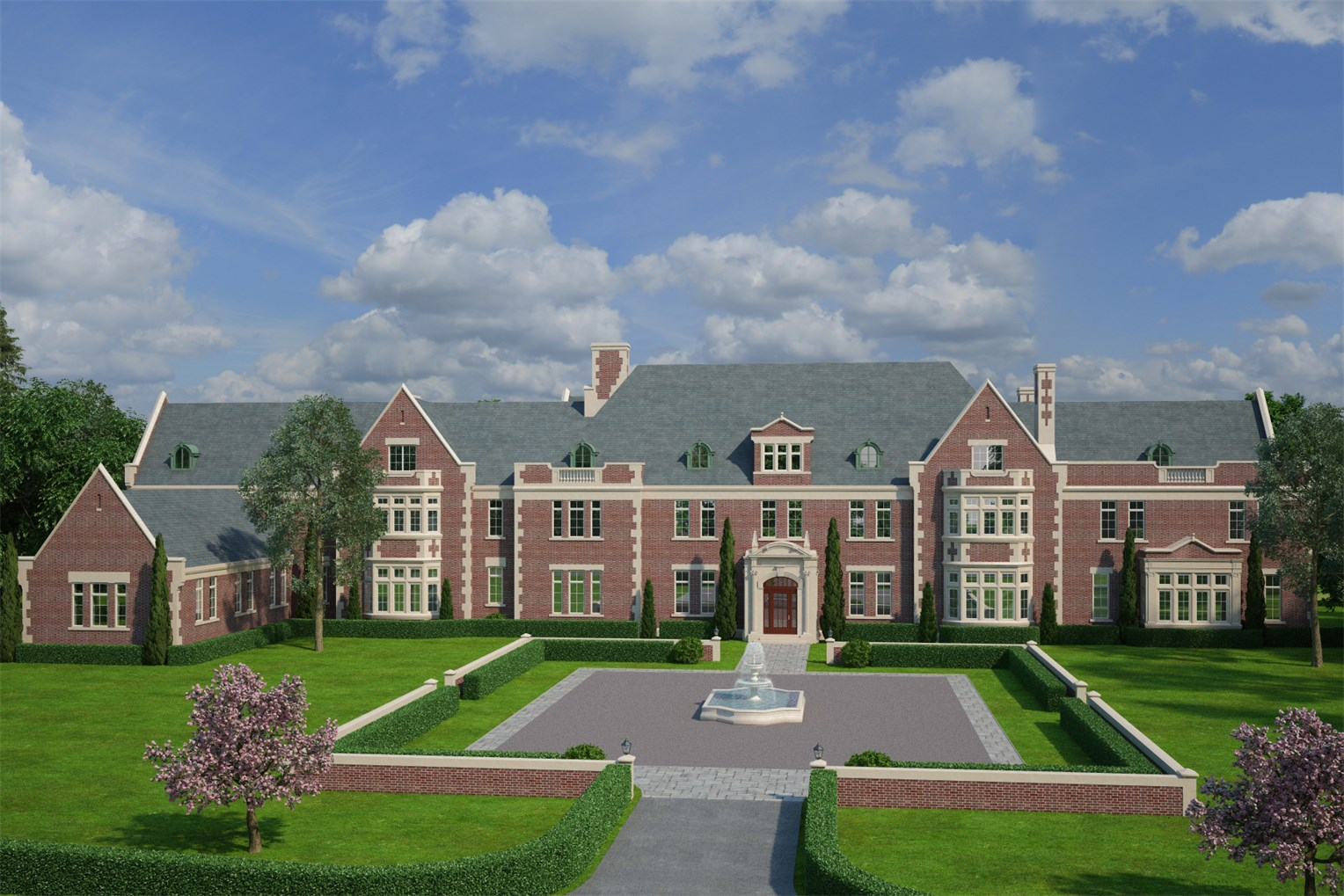 All hail the highest priced property of westchester county for Estate home designs