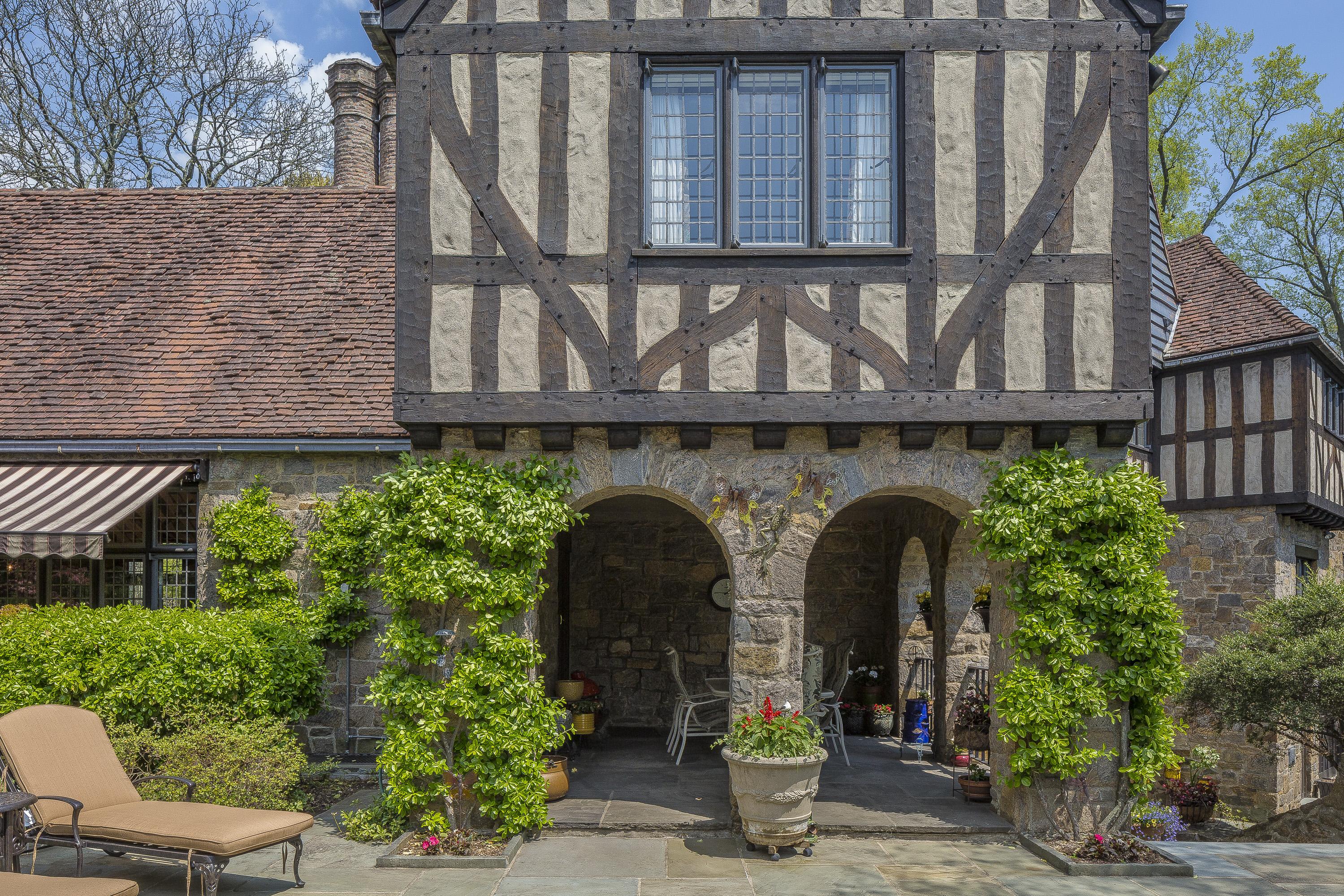 Stone Tudor House keeping history alive: a tudor revival masterpiece   william pitt