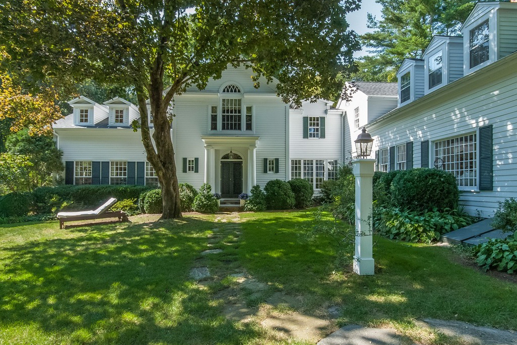 Fall in love for the fall 5 timeless new england homes for Carrington homes