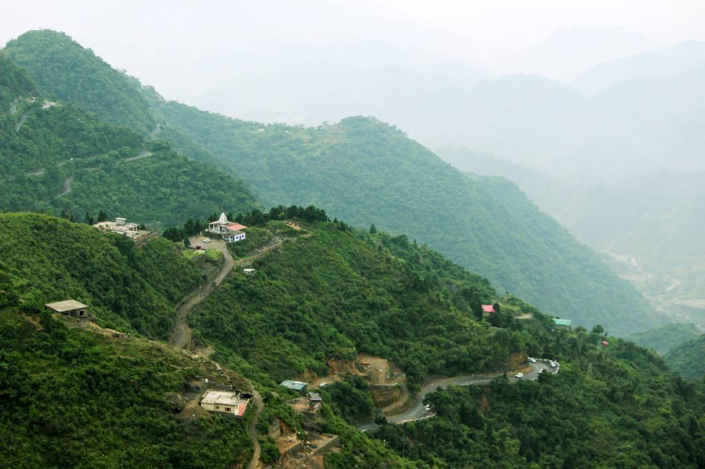 Across Beautiful Mountain Views