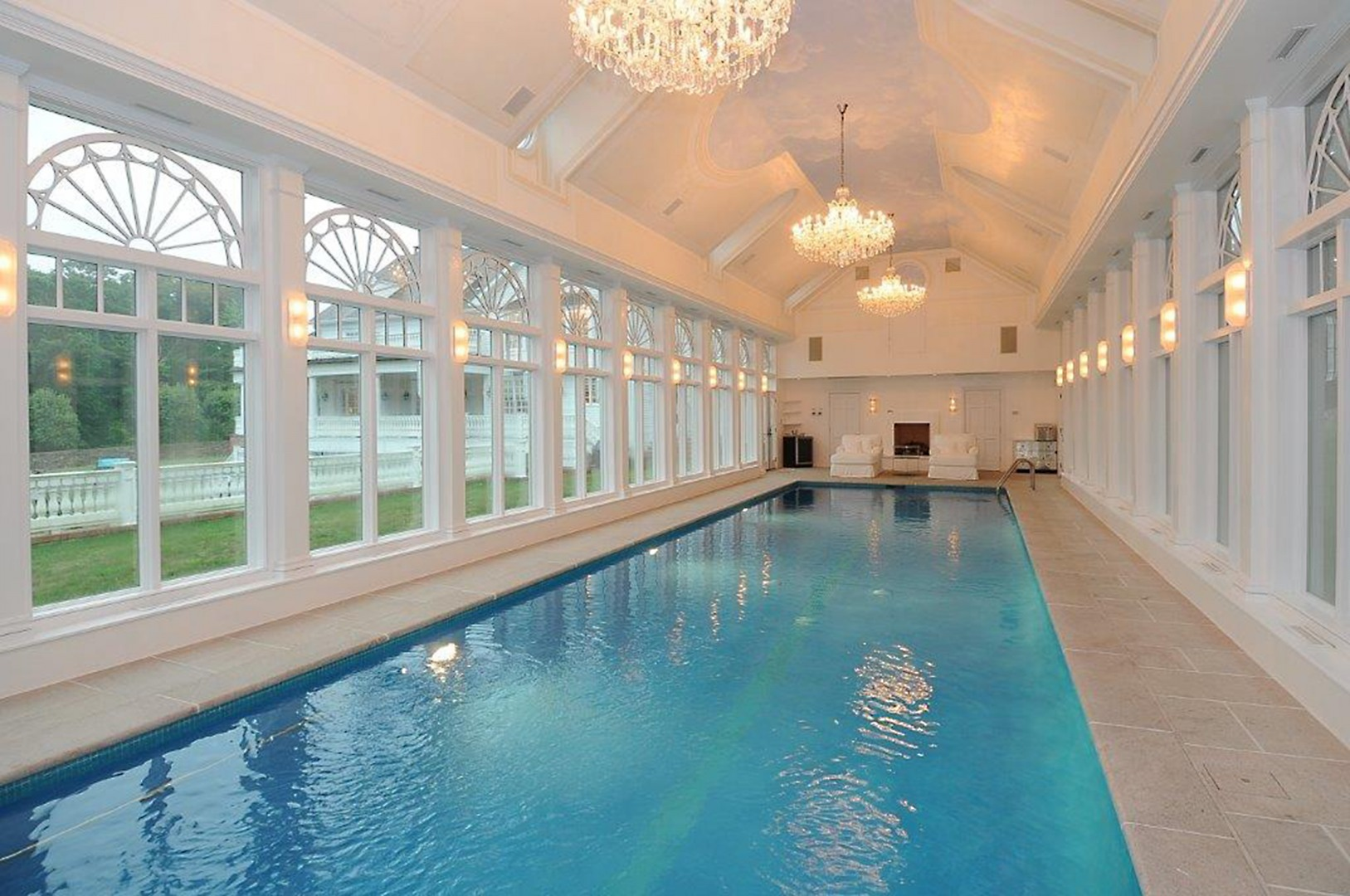 Dive into winter 5 dreamy indoor pools william pitt for Garden oaks pool