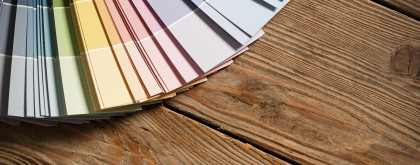 Colour Chart on Wood