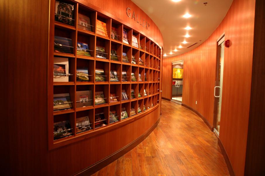 Global Gallery Brochure Wall