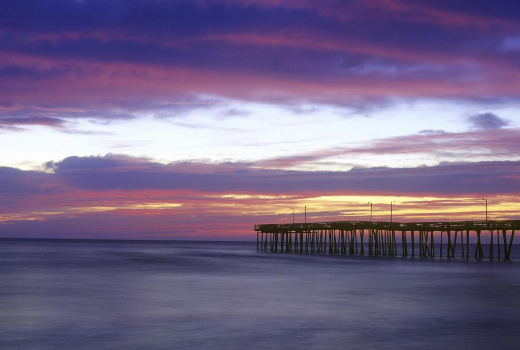 Sunrise at the Virginia Beach, VA Pier