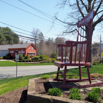 Avon Connecticut CT Village Chair