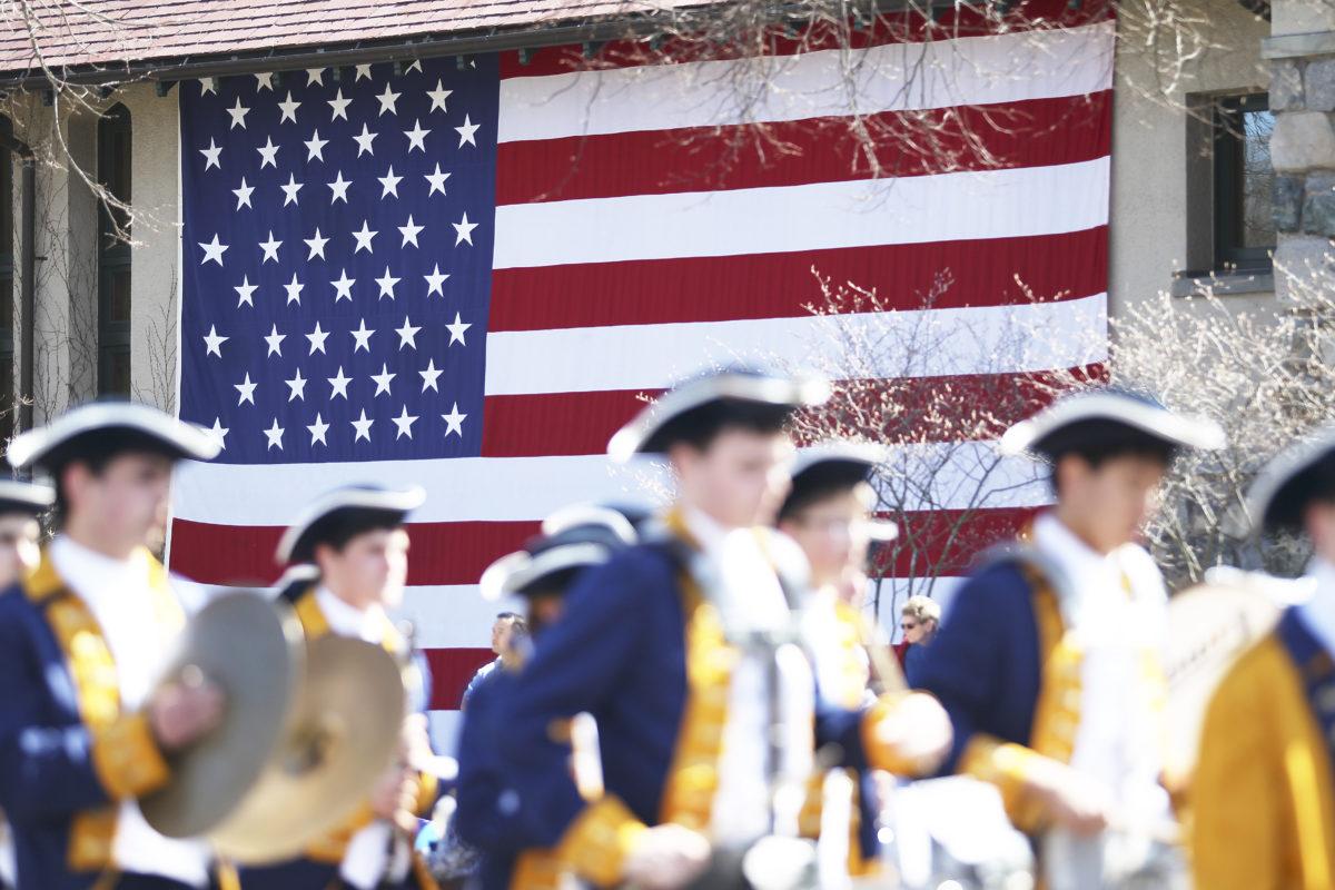 Patriot's Day Parade, Lexington, MA, US