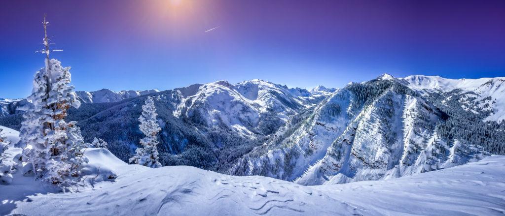 Ski resort in Colorado